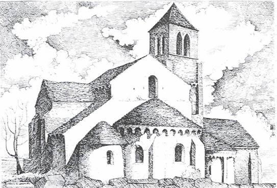 Eglise notre - Eglise dessin ...